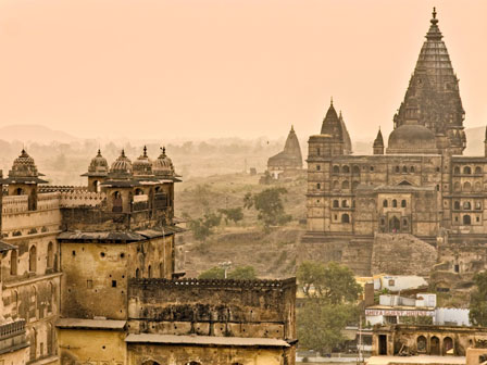 Orchha Temple and Palace
